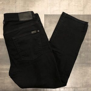 7 For All Mankind Paxtyn No Fade Jeans 34x27